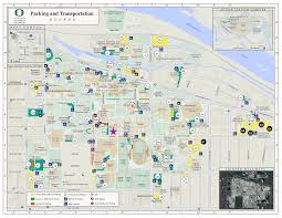 Portland Parking Map by 2017 Pacific Northwest Optics Conference Uo Student Chapter Of