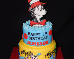 dr seuss birthday cakes dr seuss cake topper etsy