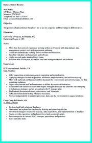Cv For Data Analyst Project Architect Resume Civil Architect Resume 11 16 Free Sample