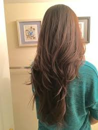 pretty v cut hairs styles 21 long haircuts with layers for every type of texture long