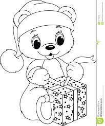 vector cartoon toddler boy running bottle teddy bear coloring