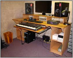 How To Build A Home Studio Desk by Recording Studio Desk Small Recording Studio Desk Home Made