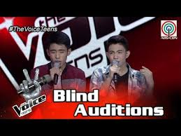 Blind Christian The Voice Teens Philippines Blind Audition Chan And Christian