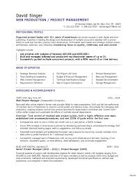 supervisor resume exles 2012 project manager resume templates unique sle supervisor of 33a