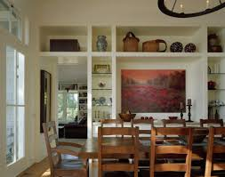 Shelves For Dining Room Imposant Dining Room Designs With Shelves On The Walls