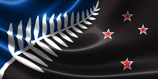 new design black blue and a fern new zealand might get a stunning new flag