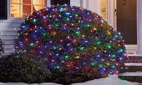 led net lights multi color 150 count solar led net lights groupon goods
