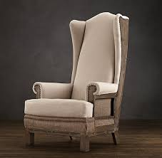 Modern High Back Wing Chair Leather High Back Chair Ultimate Venue