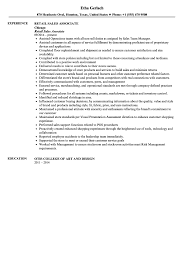 Sample Of Sales Associate Resume Sales Associate Resume Sample Velvet Jobs