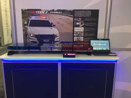 code 3 pursuit light bar code 3 on twitter check out our pursuit lightbar in the ecco booth