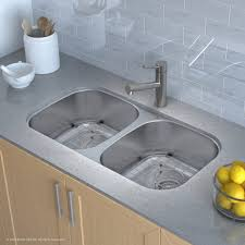 Undermount Kitchen Sink Stainless Steel Kitchen Kraus Kbu22 Kitchen Sink Stainless Steel Undermount