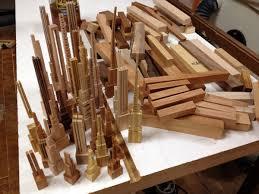 scrap wood sculpture how it s made spherical wooden city from scrap wood design milk