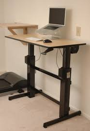 Ikea Adjustable Desk Legs Desks Sit Stand Desk Ikea Lorell Sit To Stand Monitor Riser