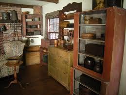 Primitive Corner Cabinet Primitive Bedroom Furniture Farmhouse Furniture Brown Wooden