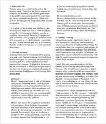 strategic business plan template 8 strategic business plan