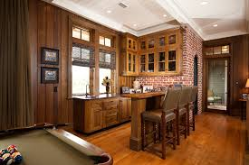 kitchen bar cabinet ideas kitchen bar cabinet family room traditional with bar brown