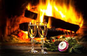 decorazioni bicchieri due decorazioni nuovo anno di natale e dei bicchieri di vino