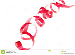 curly ribbon curly and ribbon stock photo image 6782800
