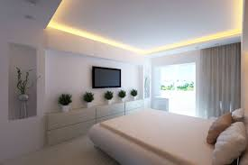bright design ideas of the white bedrooms