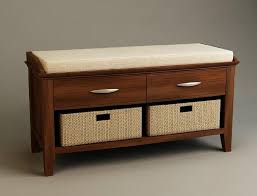 Ottoman Storage Bench Innovative Wood Storage Ottoman Bench Furniture Mesmerizing White
