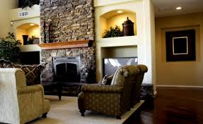 Laminate Floor On Ceiling Stacked Stone Fireplace Ideas Brown Wooden Laminate Flooring