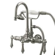 Vintage Clawfoot Tub Faucet Clawfoot Tub Shower Package Wayfair