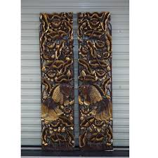 shop the characteristics of thailand wood carving crafts