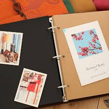 photo albums for kids diy leather vintage handmade photo albums paper for kids wedding
