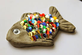 rainbow fish theme sensory fishing activity and craft for
