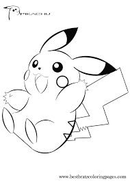 pokemon coloring pages pikachu smile 510 pokemon coloring pages