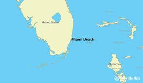 where is miami fl where is miami fl located in