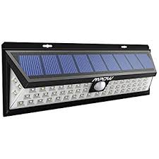 How Long To Charge Solar Lights - mpow 20 led solar lights bright outdoor security lights with