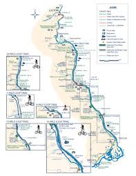bucks county map towpath trail map delaware canal state park in bucks county