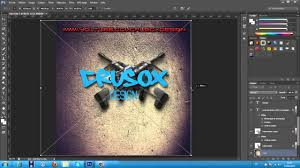 template youtube photoshop cc speedart logo photoshop cs6 templates youtube