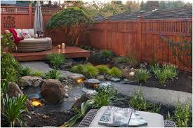 Backyard Features Ideas Backyards Wonderful Garden Design With Water Feature Creates