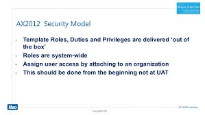 understanding the dynamics ax2012 security model 4 14 2014 axug
