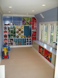 Kids Toy Room Storage by Idyllic Attic Playroom For Child Furniture Design Presenting