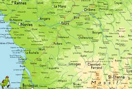 Rennes France Map by Gr655 Via Turonensis