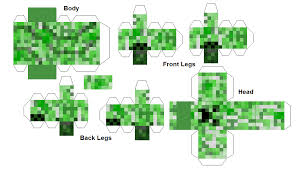 minecraft creeper template 28 images telescoping minecraft