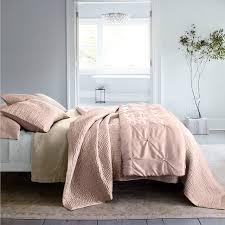 Garnet Hill Duvet Cover Eileen Fisher Rosewater Master Bedroom Traditional Bedroom