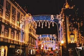 file christmas decorations in funchal madeira jpg wikimedia commons