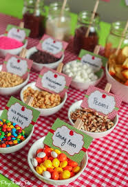 candy apple party favors easy apple party ideas that are for fall apple nachos