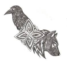 42 best nordic wolf tattoos images on wolf tattoos