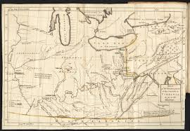 Map Virginia Map Of The Western Parts Of The Colony Of Virginia As Far As The