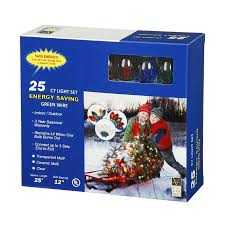 Twinkling Christmas Tree Lights Canada by Shop Vickerman 25 Count 25 Ft Twinkling Multicolor C7 Plug In