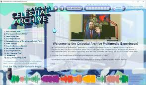 the celestial archive multimedia experience is now on itch io
