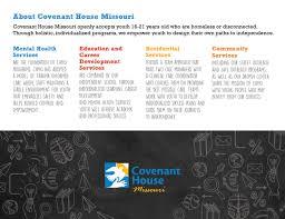 covenant house missouri flyers u2014 katy lynn
