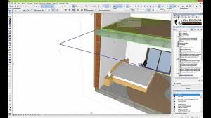 archicad tutorial designing a room youtube