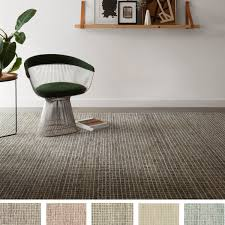 Tile Area Rug Home Mosaic Tile Earth Tone Wool Hooked Area Rug 7