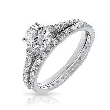 bridal ring set wedding and engagement ring set wedding corners